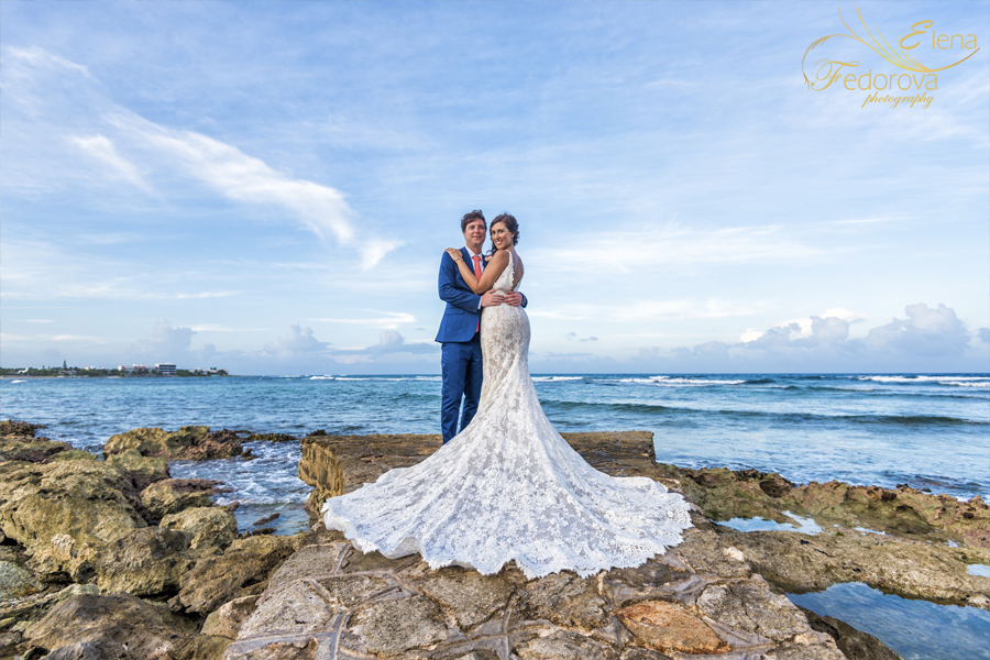 beach wedding isla mujeres