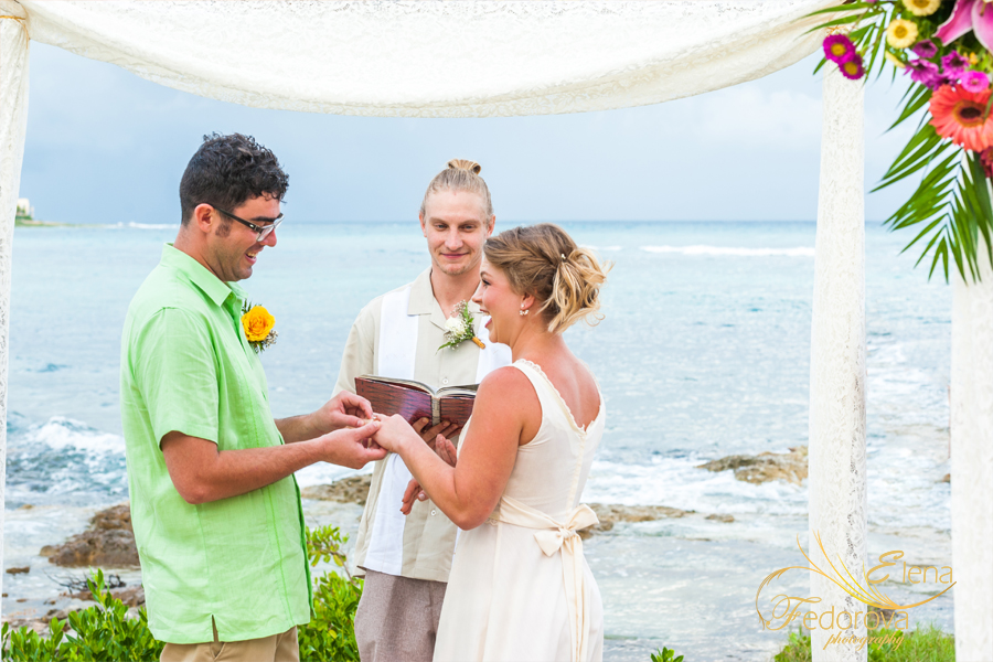 destination beach wedding photo