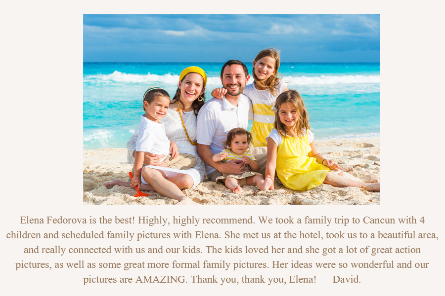 family photographer isla mujeres review