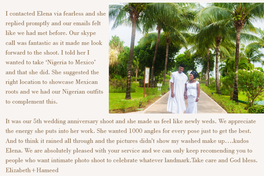 good review photographer isla mujeres
