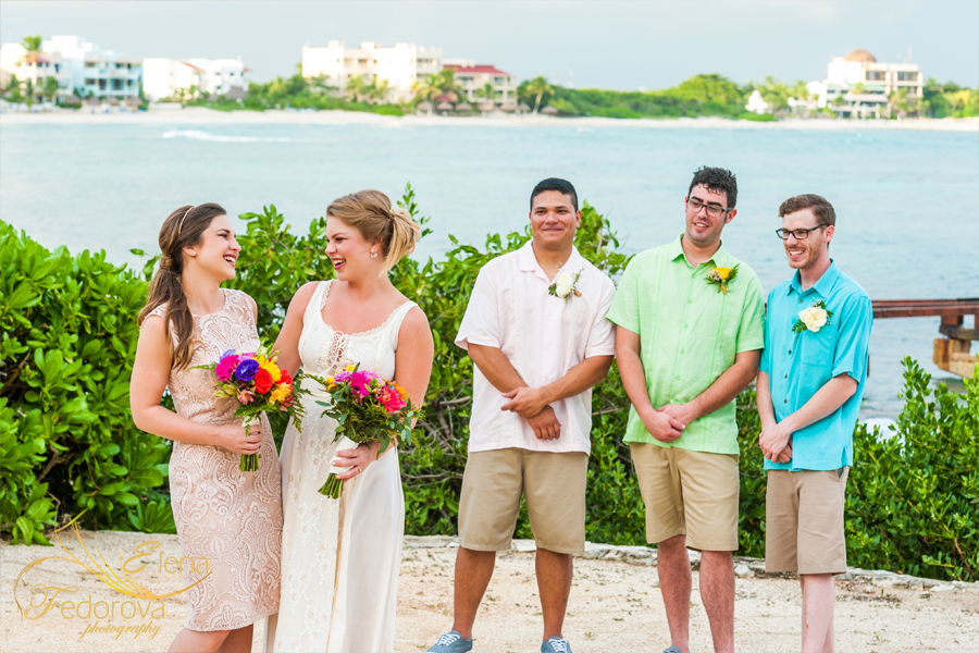 gropp wedding photo isla mujeres