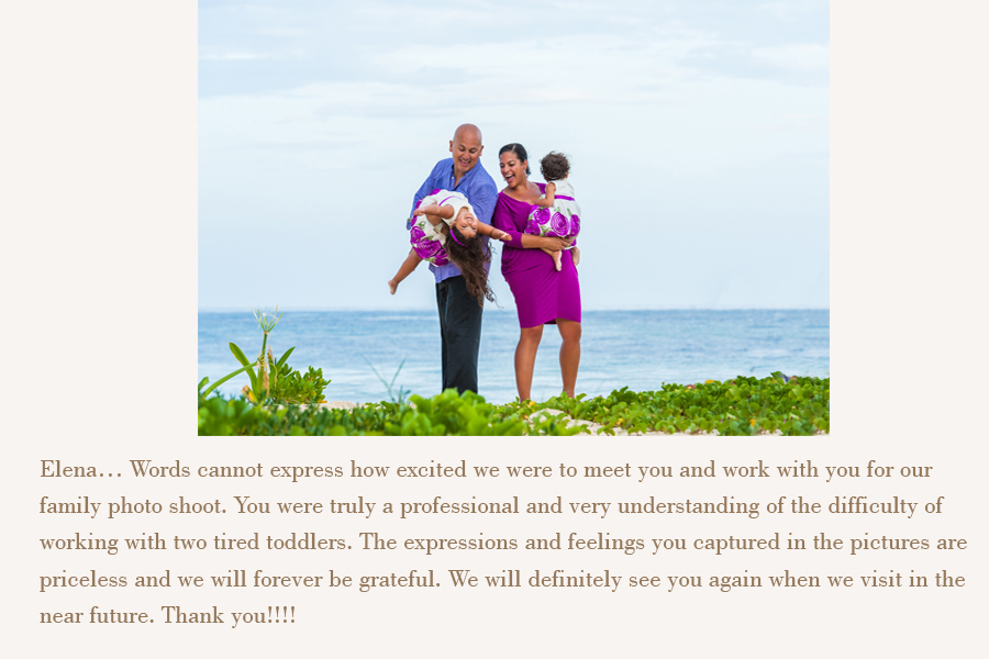 isla mujeres family photographer review