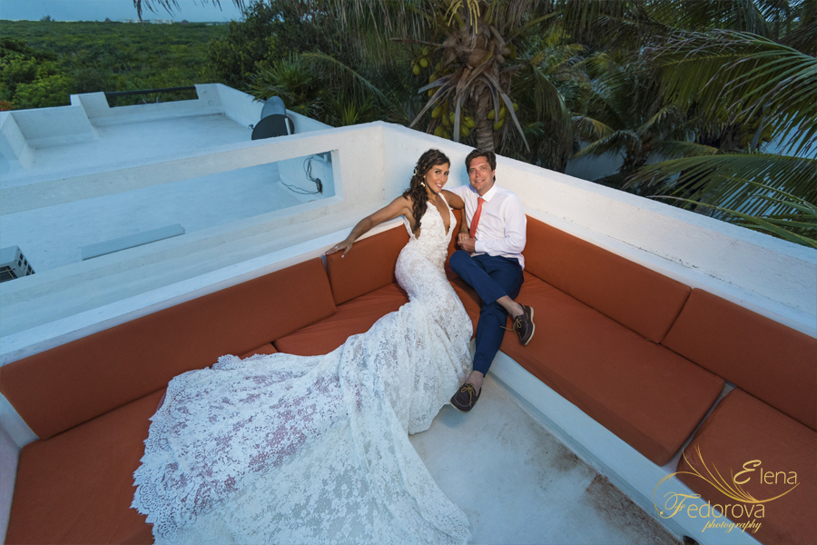isla mujeres gorgeous wedding