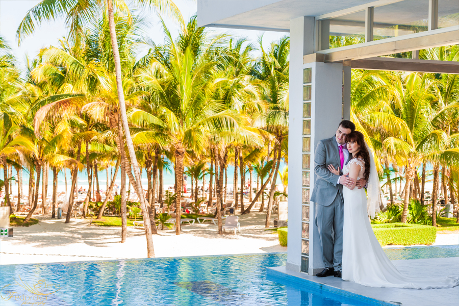 isla mujeres photography wedding