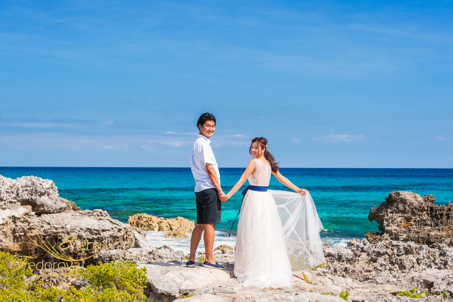 isla mujeres wedding photographers