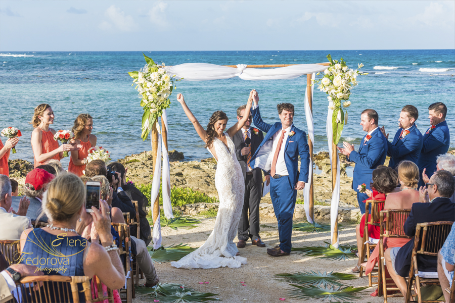 isla mujeres wedding photography sample