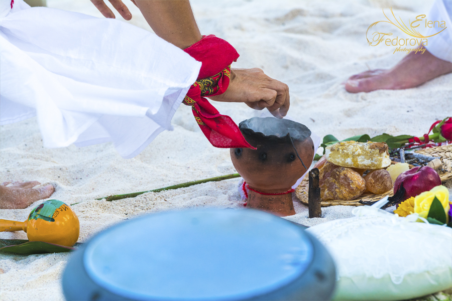 mayan symbolic ceremony photo