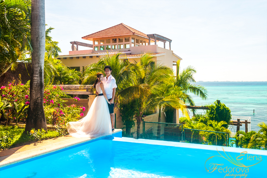 wedding photos isla mujeres