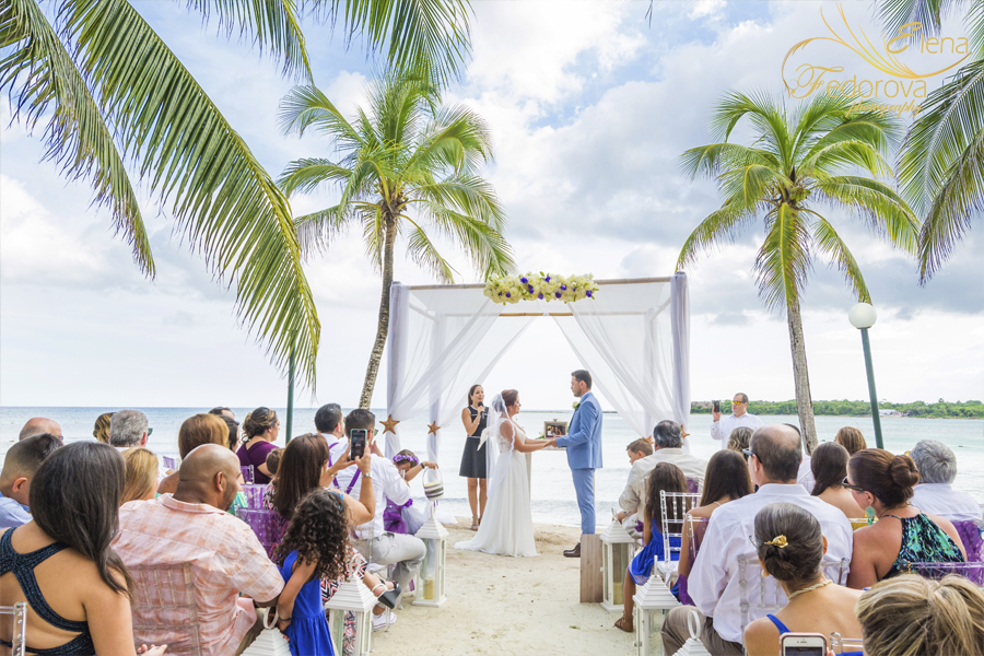 wedding beach ceremony isla mujeres