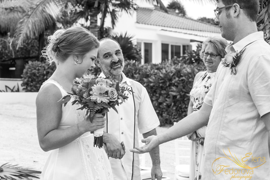 wedding ceremony isla mujeres