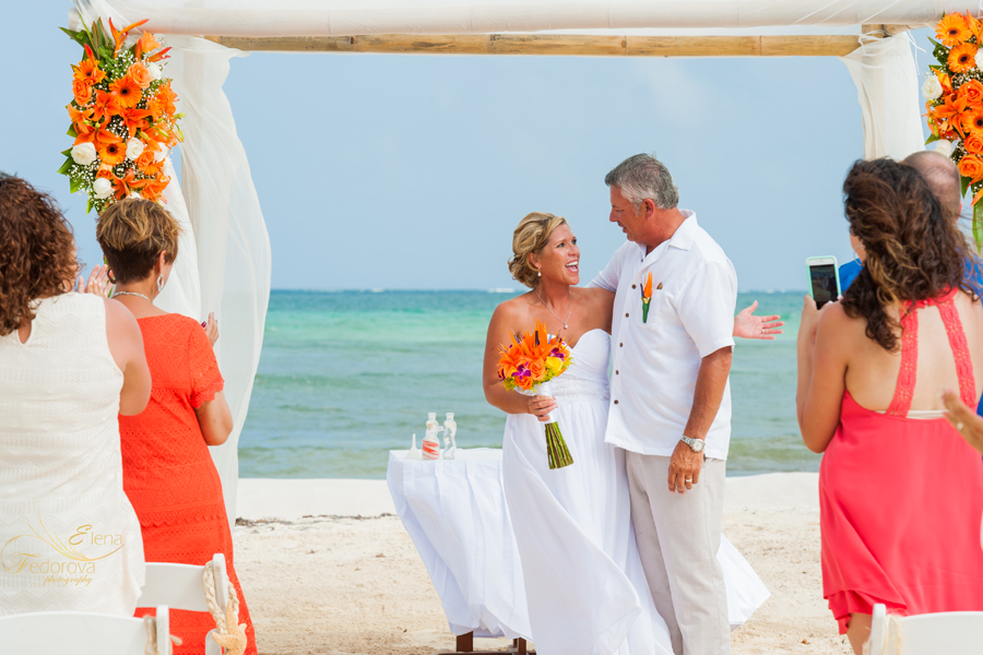 wedding ceremony isla mujeres mexico