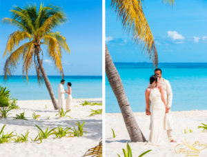 wedding on island mujeres mexico