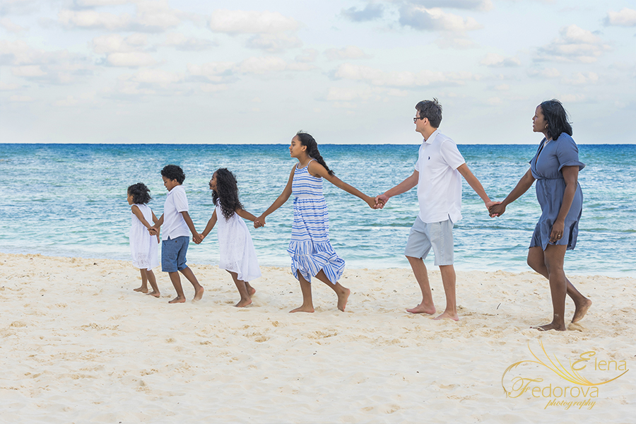 family photography beach photo session