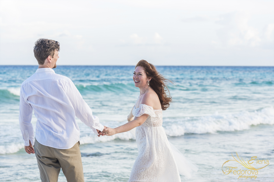 amazing love story photo session Isla Mujeres