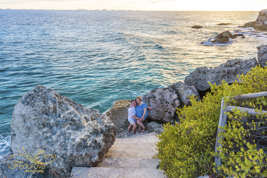 isla mujeres photo session at punta sur
