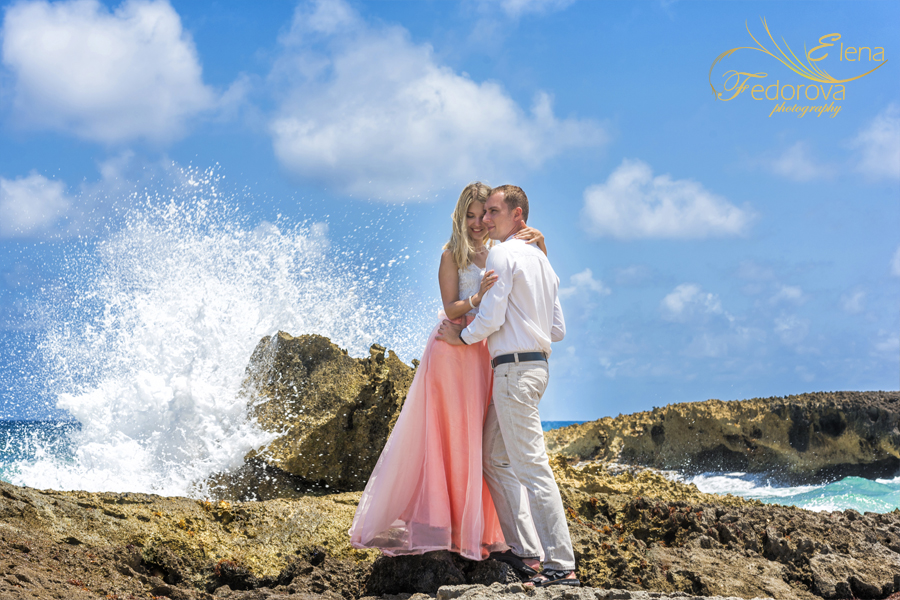 love story photography Isla Mujeres