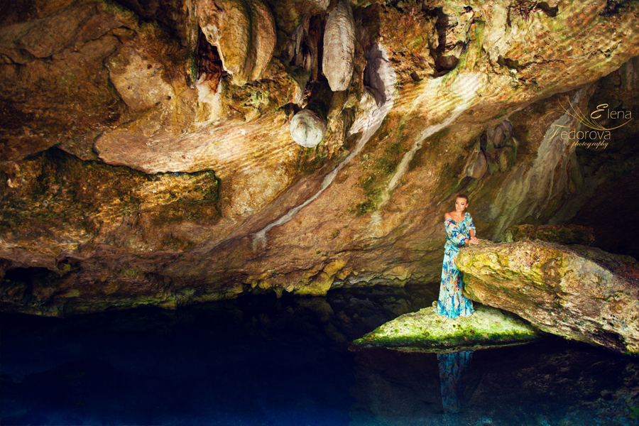 isla mujeres cenote photo session