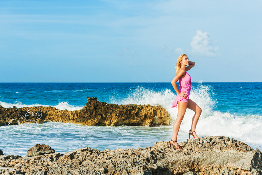 isla mujeres fashion photography beach